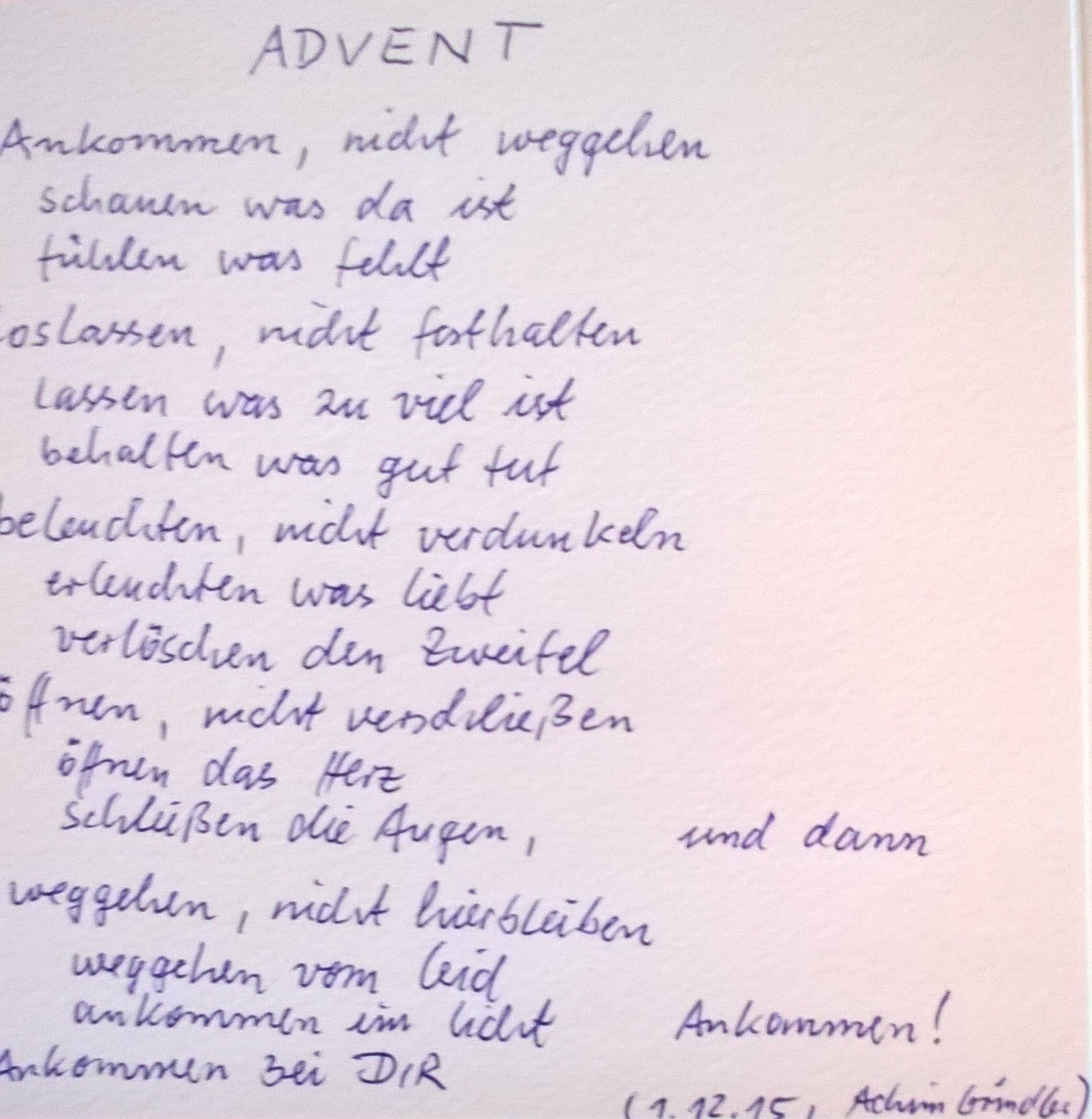 ein handschriftliches Schriftstück, dass den unten stehenden Text enthält.